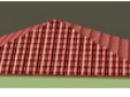 Inclined Synthic Roofing Tile